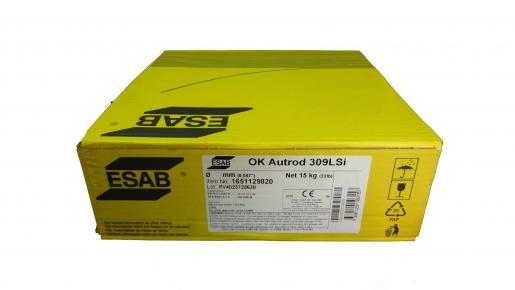 Купить сварочную нержавеющую проволоку ESAB Autrod 309LSi ∅ 1.2 мм (15кг/упак.) в СПб