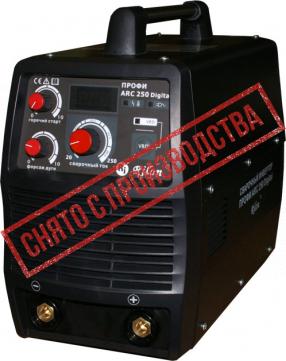 Сварочный инвертор ПРОФИ ARC 250 Digital