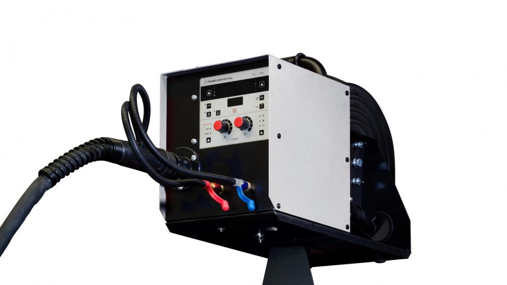 Мощный сварочный полуавтомат для алюминия TRITON ALUMIG 500P Dpulse Synergic DW