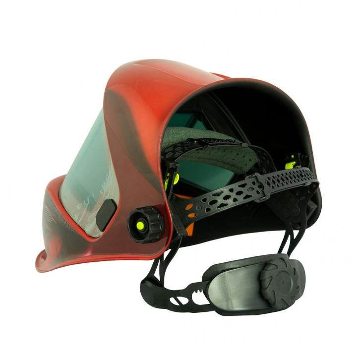 Сварочная маска FoxWeld Корунд МЕГА (красная)-2.jpg