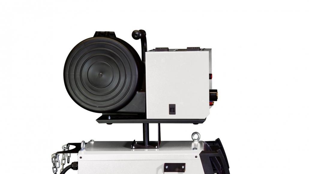 Мощный профессиональный полуавтомат для цеха TRITON ALUMIG 500P Dpulse Synergic DW