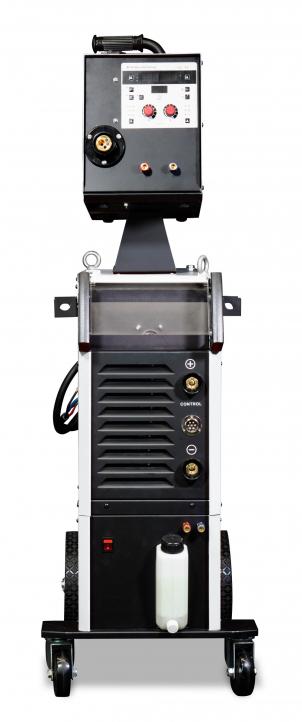 Промышленный полуавтомат для алюминия с двойным пульсом TRITON ALUMIG 500P Dpulse Synergic DW