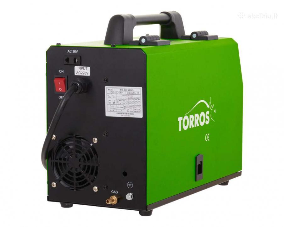Недорогой инверторный полуавтомат Torros Mig-200 (M2007) с бесплатной доставкой в СПб