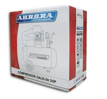 Купить бюджетный поршневой воздушный компрессор Aurora GALE-50