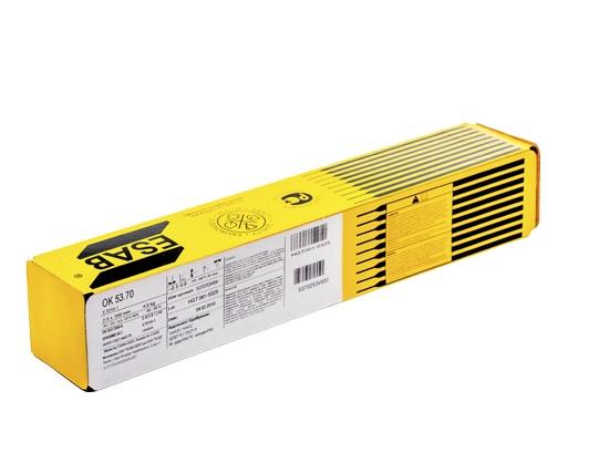 """Электрод сварочный для углеродистых сталей ESAB OK 53.70 4.0×450 мм """"СВЭЛ"""""""