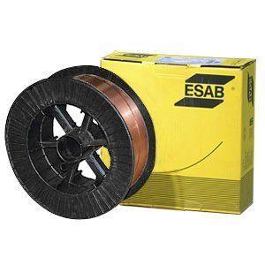 Купить сварочную омедненную проволоку ESAB OK Autrod 12.51 0.6мм на 5кг в СПб