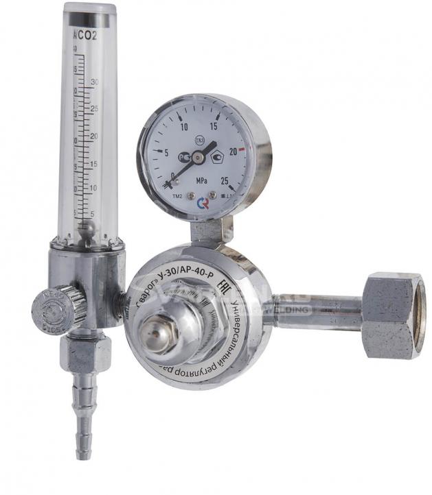 Надёжный регулятор расхода с ротаметром Сварог У-30/АР-40-Р