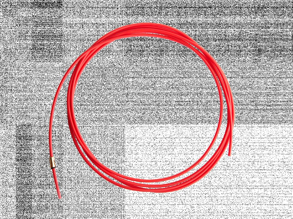 Канал тефлон красный, 5 метров ( ∅ 1.0-1.2мм )