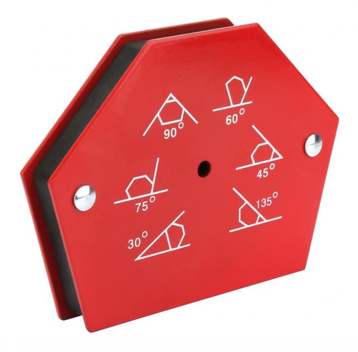 Шестиугольный Магнит для сварки средний (22кг, 50LBS) в СПб