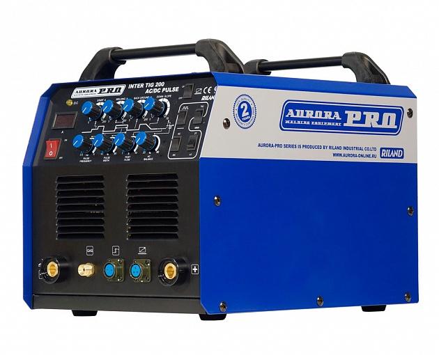 Купить аппарат аргонодуговой сварки AURORA PRO INTER TIG 200 AC/DC PULSE в СПб