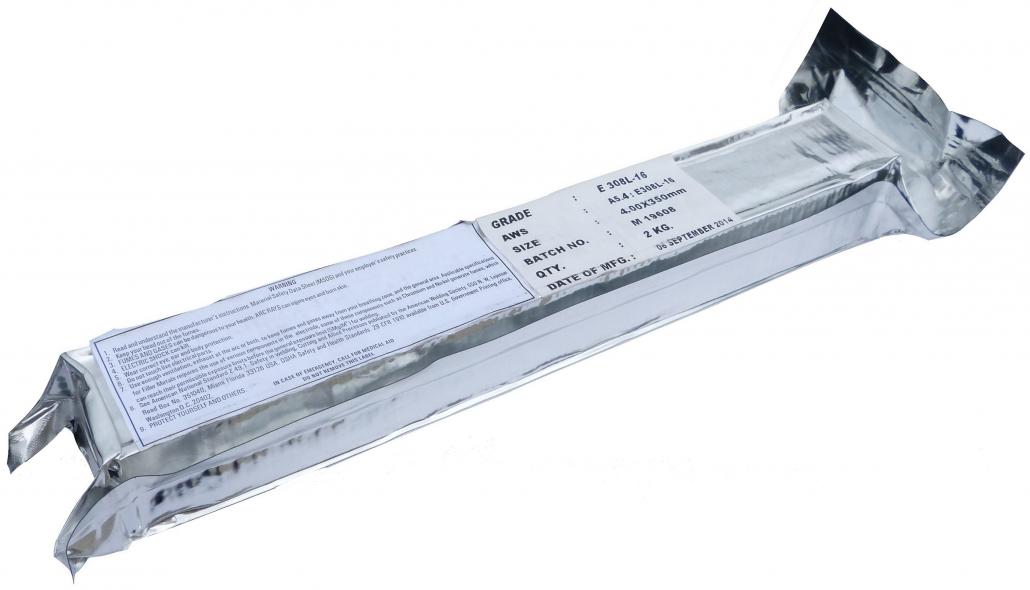 Нержавеющий электрод 308L-16 ∅4.0 мм (2кг/упак.)