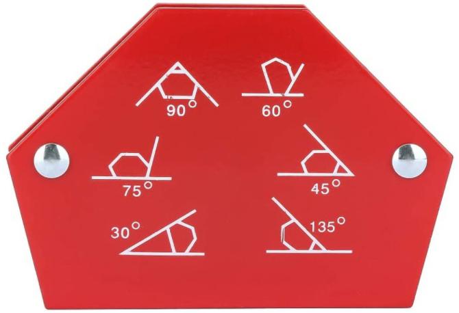 Шестиугольный магнит для сварки большой (34кг, 75LBS) в СПб
