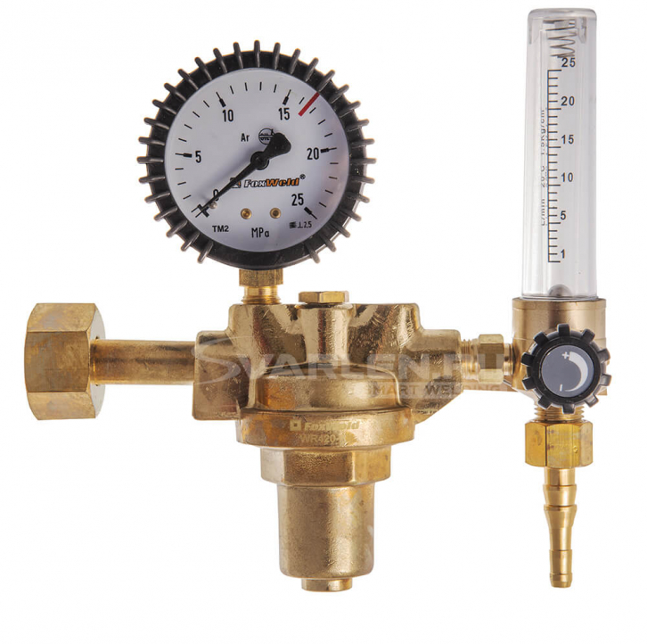 Профессиональный регулятор расхода газа FoxWeld WR410-F