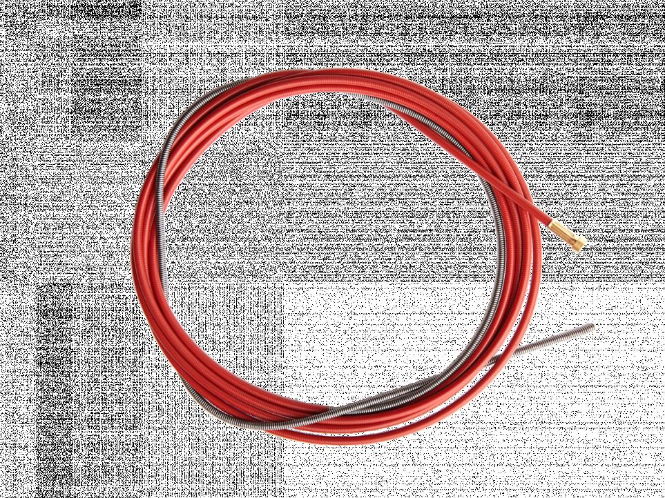 Канал красный, 5 метров ( ∅ 1.0-1.2мм   )