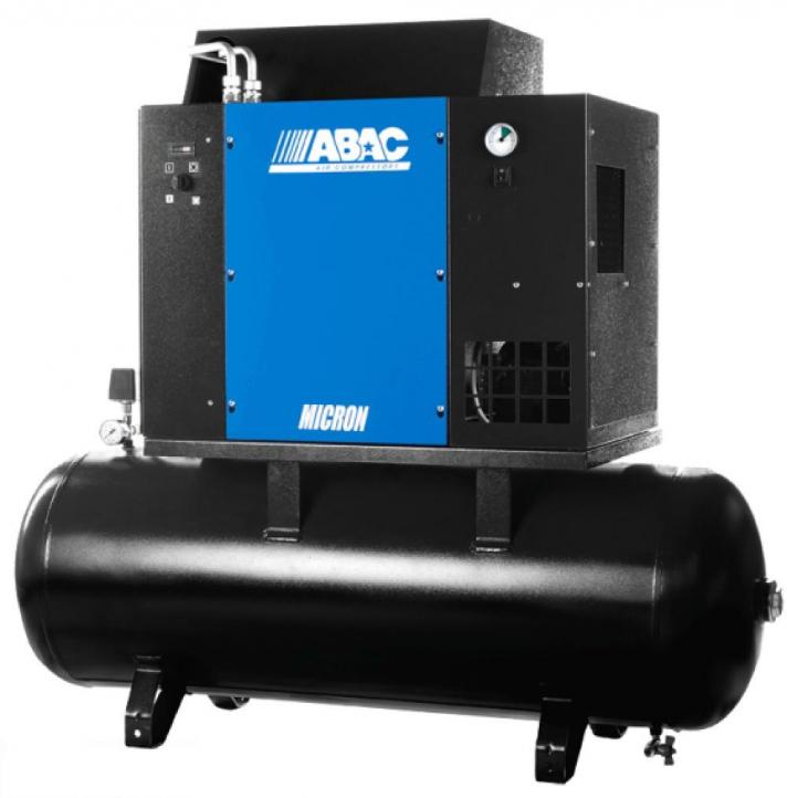 Промышленный винтовой компрессор с осушителем воздуха ABAC MICRON.E 7.508-200 купить в СПб
