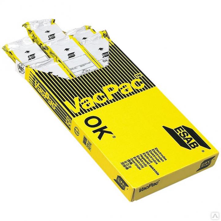 Электрод сварочный по нержавейке ESAB OK 63.30 4.0×350 мм 1/2 VP (1.7 кг / упак.)