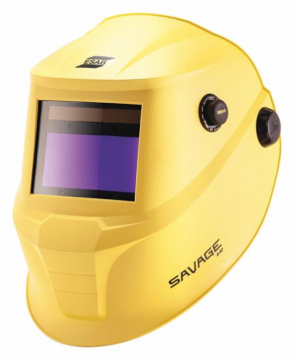 Маска ESAB SAVAGE A40 (с аккумуляторами, желтая)