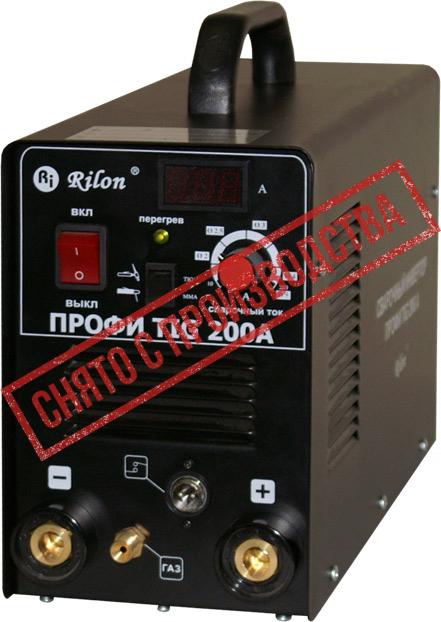 Аппарат аргонодуговой сварки ПРОФИ TIG 200A