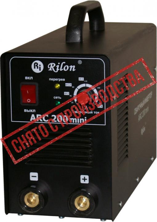 Сварочный инвертор ARC 200 mini